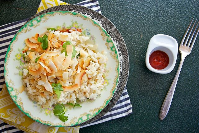 Coconut Crab Rice | Yummy!!! | Pinterest