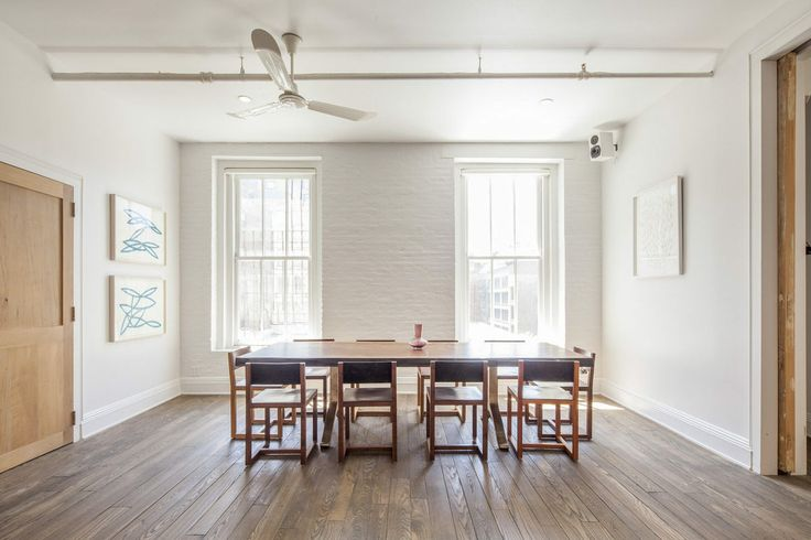 Very Simple Dining Room In NYC Dining Rooms Pinterest