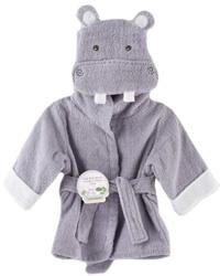 monogrammable hippo bath hoodie
