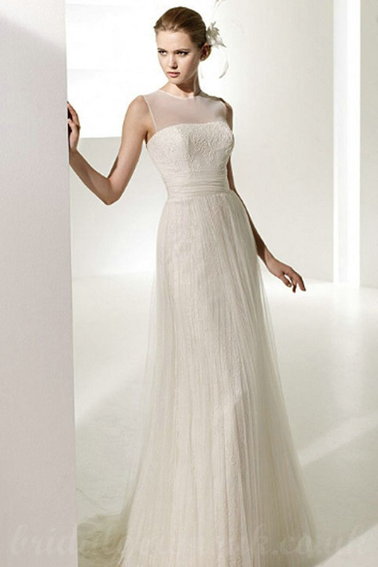 Wedding Dresses Inexpensive Simple 94