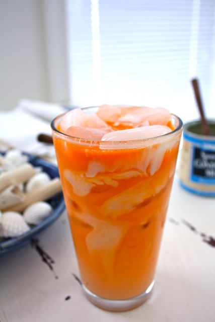 Thai iced tea | For the Love of Food - Beverages | Pinterest
