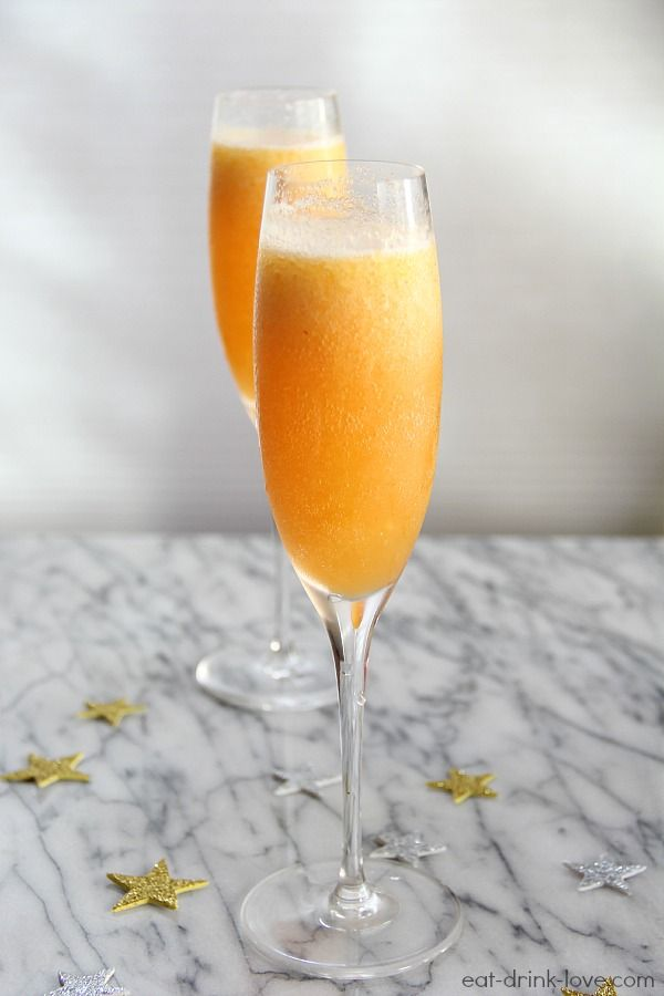 Peach Bellinis | Recipe