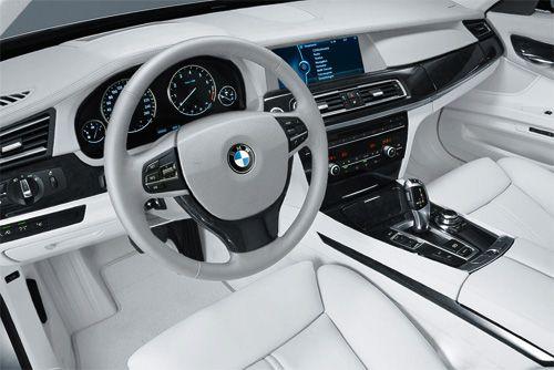 BMW - White Interior