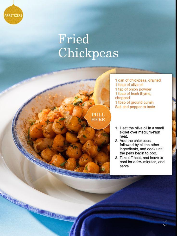 Fried Chickpeas | Food | Pinterest