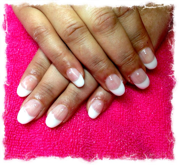 Nails French Manicure Gel Nails