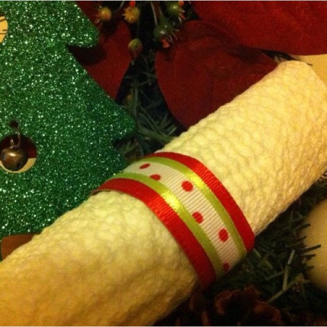 Holiday Napkin Ring