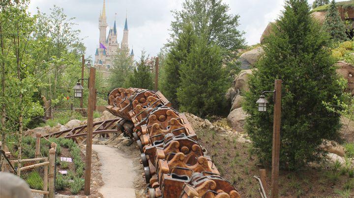 Seven Dwarfs Mine Train at Disney's Magic Kingdom