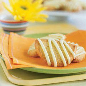 Lime Cornmeal Cookies | Recipe
