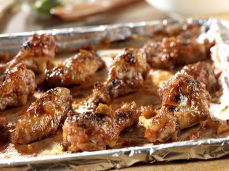 cinco de mayo glazed chicken wings recipes dishmaps glazed wings ...
