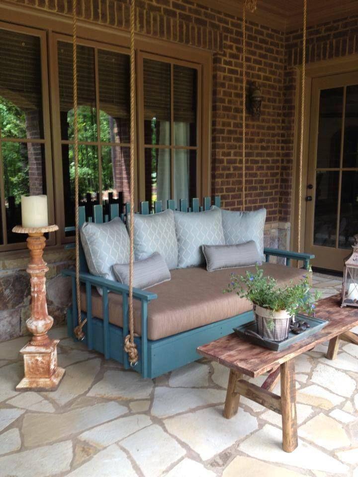 unique porch swing porches pinterest