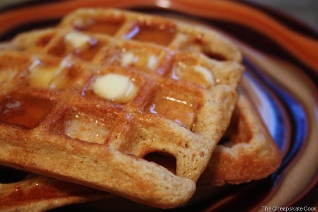 Whole Grain Waffles Recipe — Dishmaps