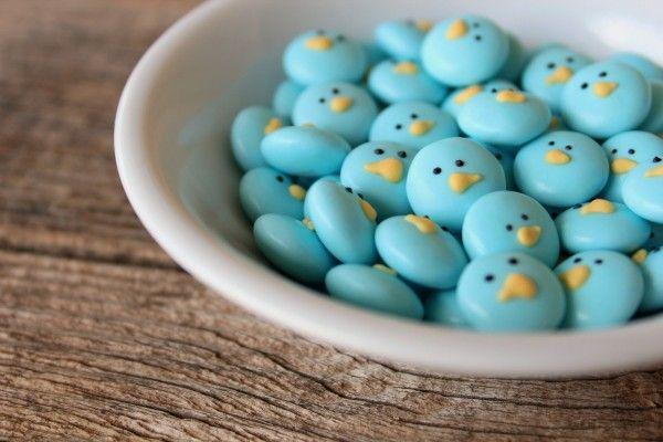 M & M Easter birds