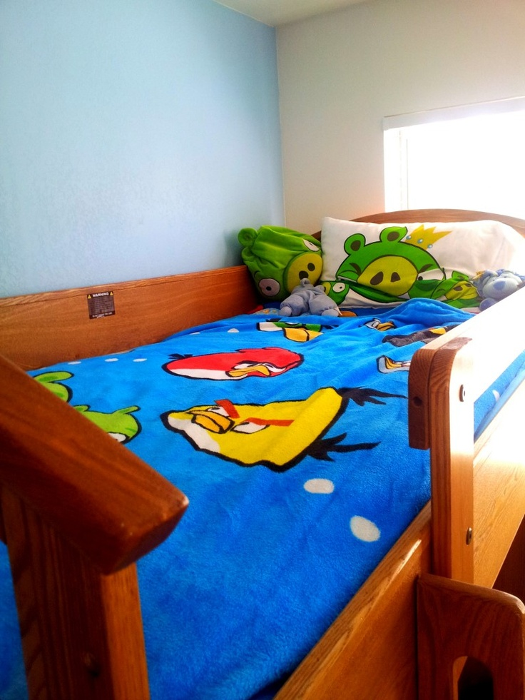 simple angry birds bedroom makeover decor pinterest