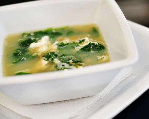 Stracciatella (Italian Egg-Drop Soup) The ingredient list is perfect ...
