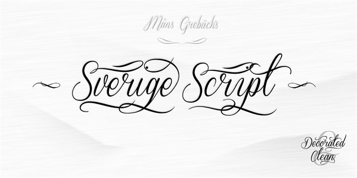 "Sverige Script font for #wedding invites - Find great wedding ideas in the PDF ""663 Must-Have Wedding Ideas"" at www.oliverink.etsy.com"
