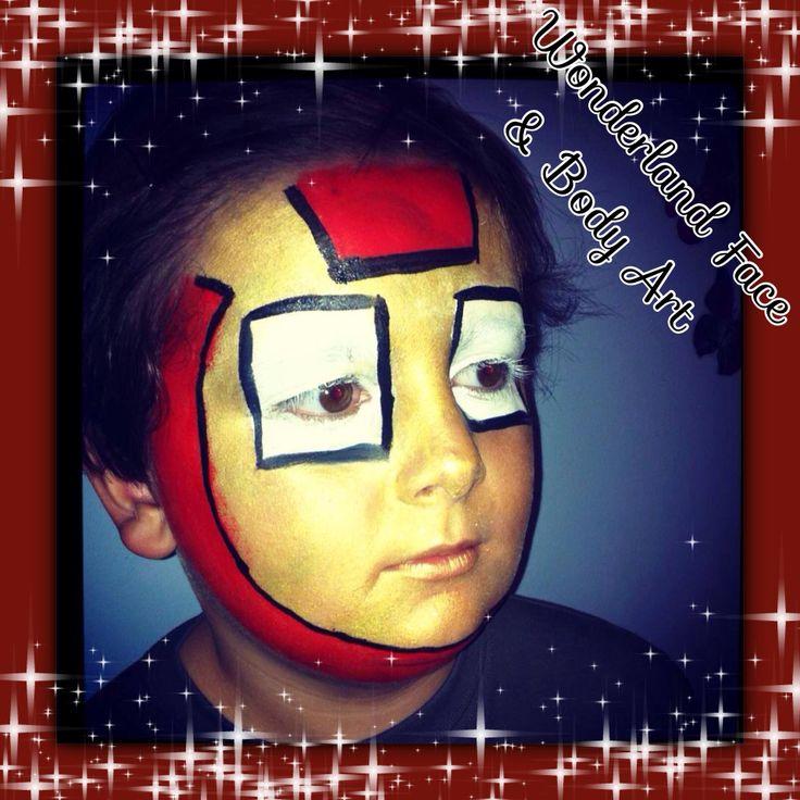 Iron Man Face Paint Iron Man Face Paint Download