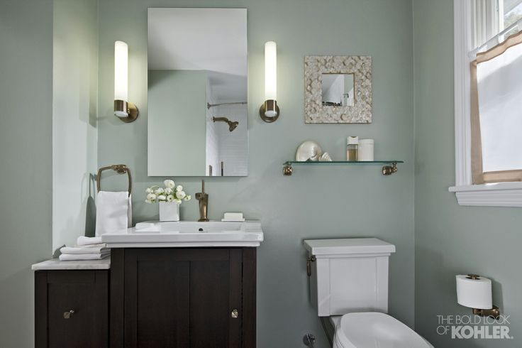 Teal Family Bathroom With Copper Accents Bathroom Pinterest