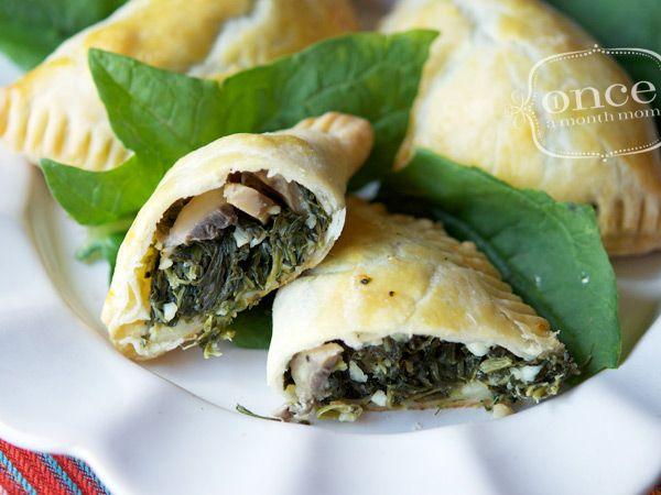 Spinach Empanadas recipe- Dinner #freezercooking #vegetarian # ...