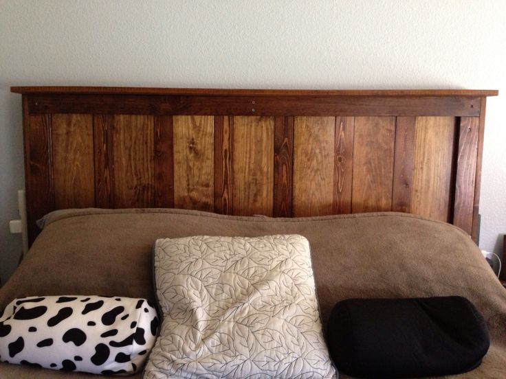 Headboard For A Queen Size Bed Great Match With A Custom Wood Bed