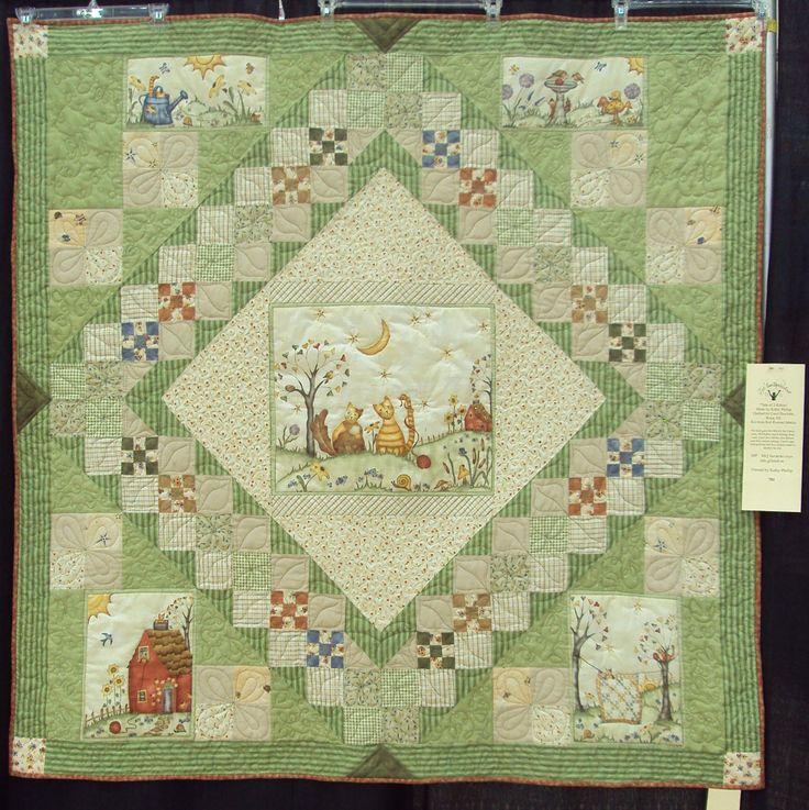 Quilt Ideas For Panels : Cute quilt using parts of a panel. Good idea!! Quilt panels Pinterest