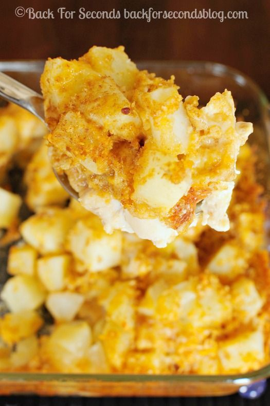 ... Chicken and Potato Bake - Easy, delicious one dish meal! #chicken #