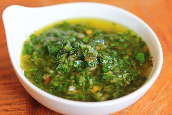 Quick & Easy Chimichurri Sauce | Food, Drinks & Cooking Tips | Pinter...