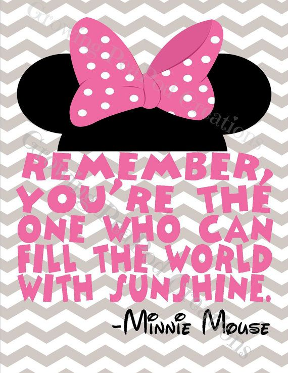 Minnie Mouse Mickey And Love Quotes
