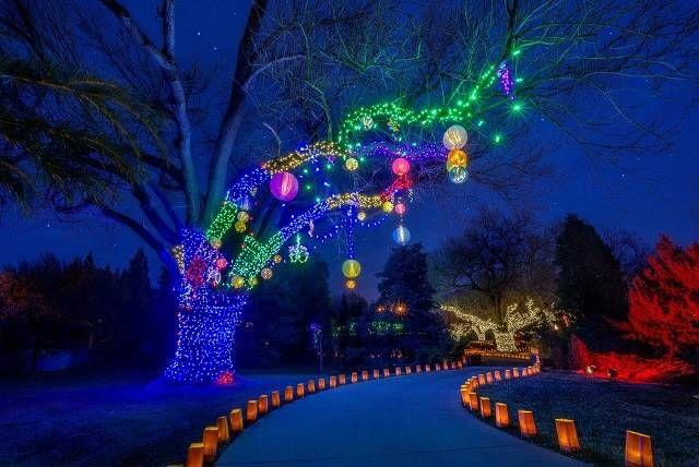 Wichita Botanic Gardens Christmas Kansas My Home