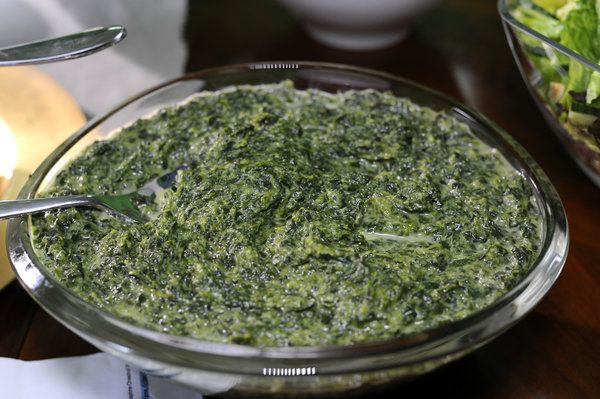 Creamed spinach | Favorite Recipes | Pinterest