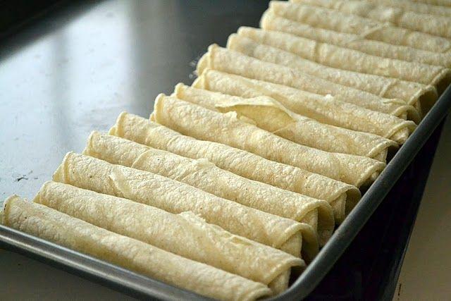 Taquitos Recipe | Yum! | Pinterest