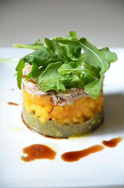 Crab, Mango and Avocado Salad | Food - Party | Pinterest