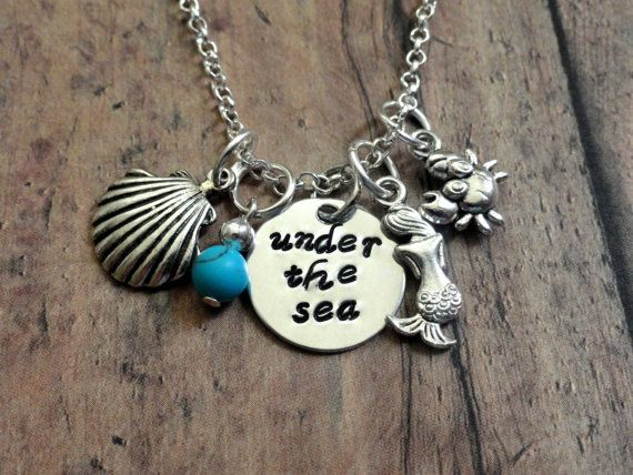 Under the Sea necklace-Disney's Little Mermaid inspired ...