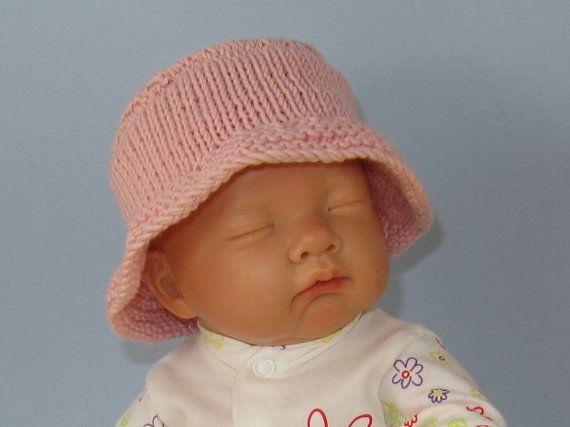 Pattern baby amp child simple bucket hat download knitting pattern