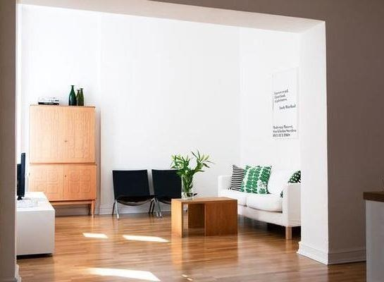 Simple clean reception area | Home Decorating | Pinterest