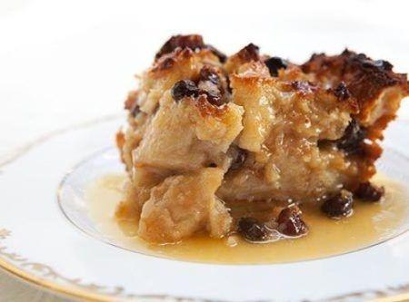 Bread Pudding with Bourbon Pecan Sauce Recipe