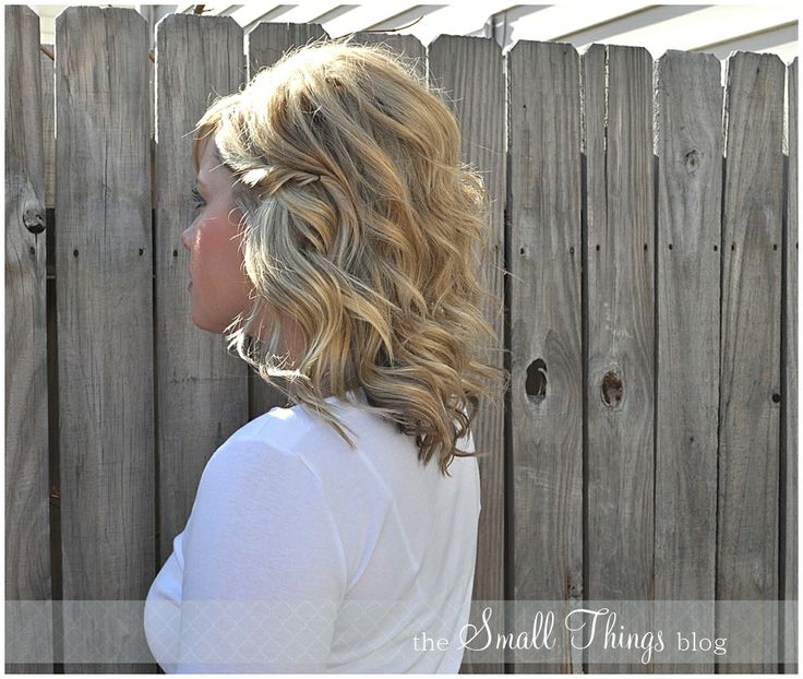 Hair Style Blog : The Small Things Blog: The Fake Half Up