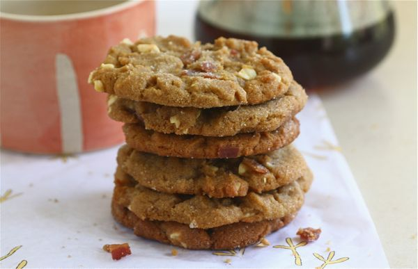 peanut butter bacon cookies from Adrianna of A Cozy Kitchen.