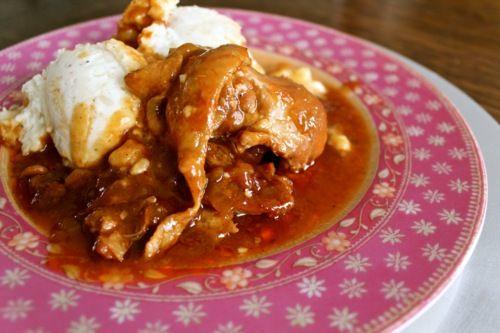 ... Portfolio • Food & Family: Recipes: Peach Whiskey BBQ Chicken