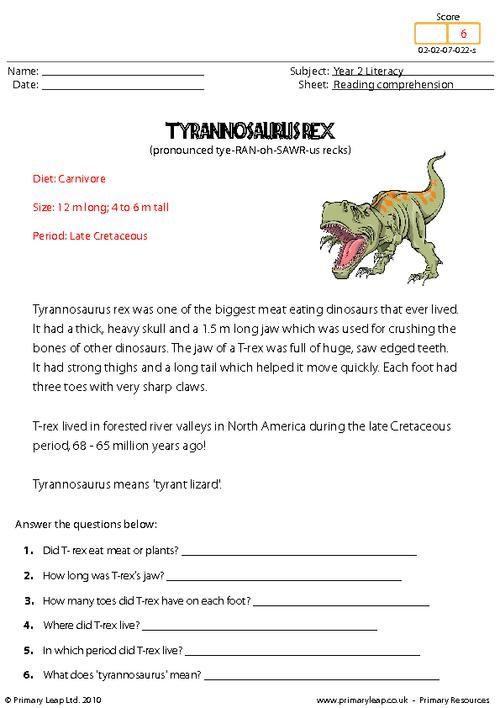 Free printable reading comprehension worksheets ks2 uk