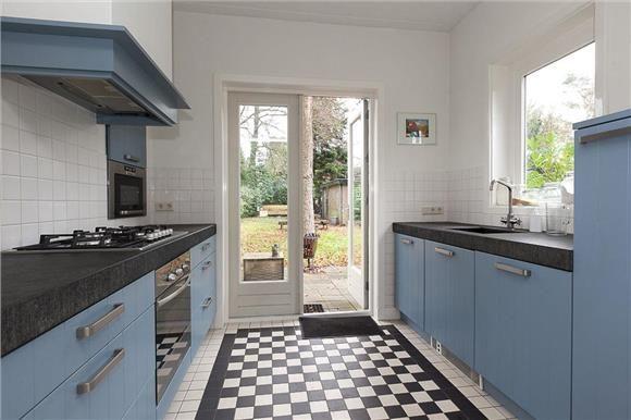 Zwart wit vloer keuken – atumre.com