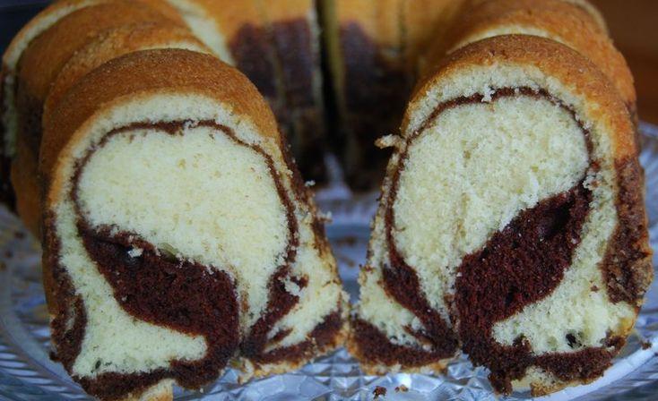 Rum-scented Marble Cake | The Modern Baker Challenge | Pinterest