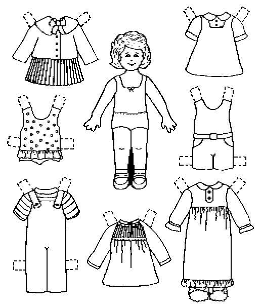 Emilly Paper Dolls Pinterest