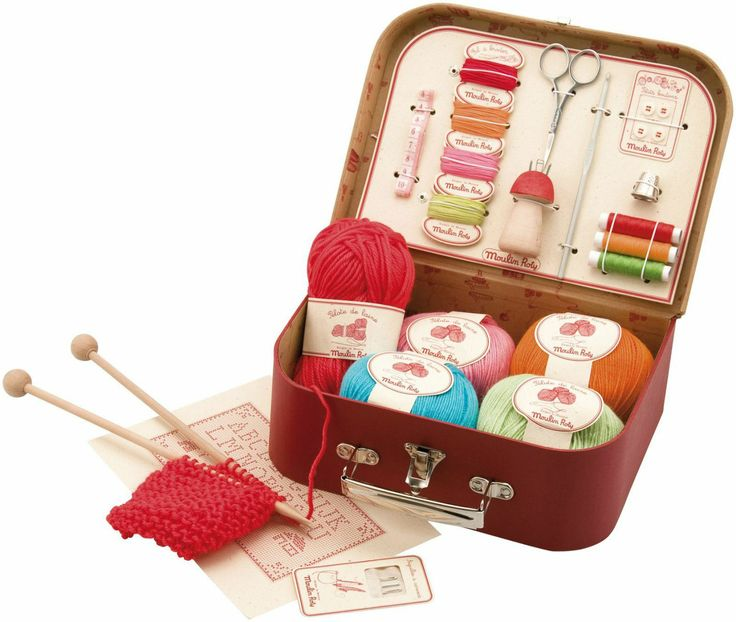 Knitting Kits : BEGINNERS SEWING AND KNITTING KIT DIY sew. Pinterest
