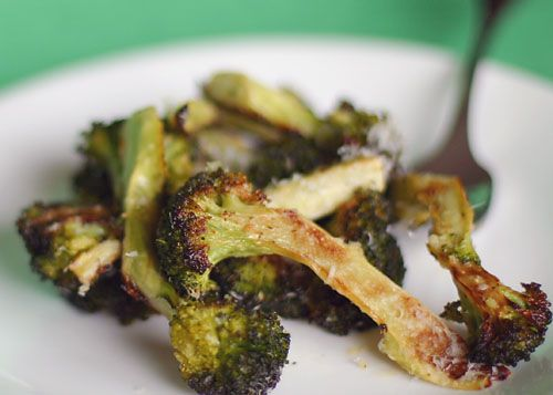 I'm tired of steamed broccoli. Roasted broccoli looks yummy! Trying this tonight.