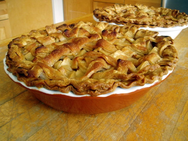 Apple Pie This deep-dish caramel apple pie is the official state dish ...