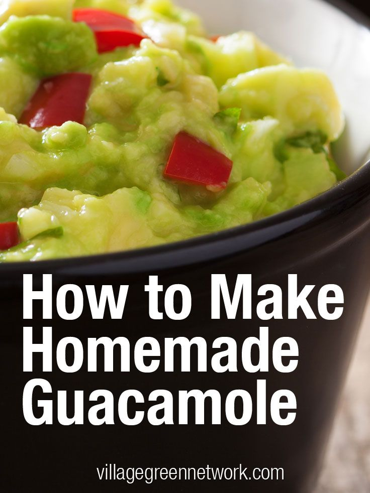 How to Make Homemade Guacamole + recipes with a twist / http ...