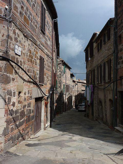 Radicofani Italy  city pictures gallery : Radicofani Street, Siena, Tuscany, Italy | Siena, Tuscany, Italy | Pi ...
