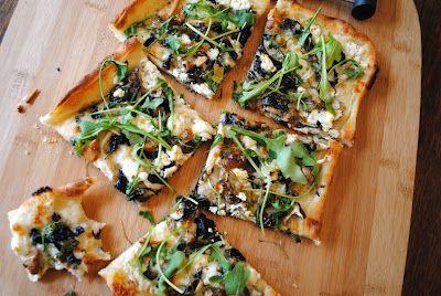 Gruyere, Wild Mushroom, And Arugula Pizza Recipes — Dishmaps