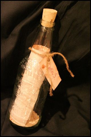 Pirate Party idea.  treasure map in bottle.  kids can go on a hunt.