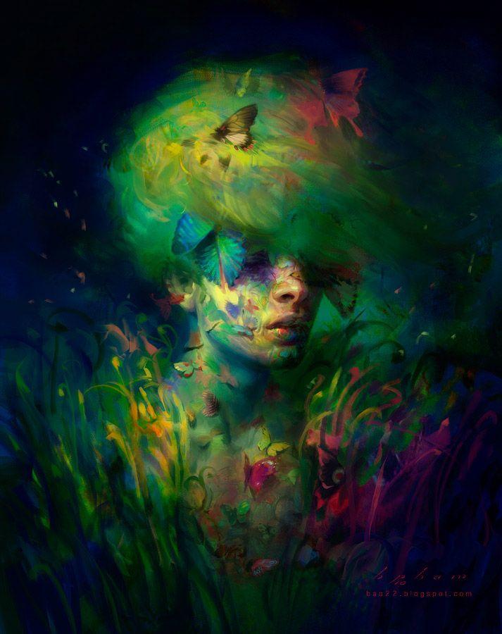 Nature Boy | Painting Inspiration | Pinterest